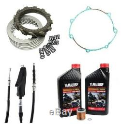 Yamaha YFZ 450 2006 Tusk Clutch, Springs Cover Gasket, Cable & Oil Change Kit